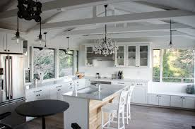 kitchen lighting vaulted ceiling kutskokitchen from wooden kitchen interior with modern led lighting ideas source