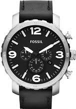"oversized watches large oversize watches watch shop comâ""¢ mens fossil nate chronograph watch jr1436"