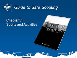 Guide To Safe Scouting Chart Scouting Safety Begins With Leadership Course Notes Ppt