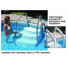 oasis steps for inground pools steps inground pool with liner44