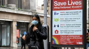 Coronavirus hospital numbers in England same as on eve of lockdown
