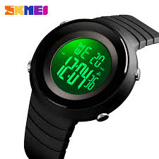 <b>SKMEI Simple</b> Watches EL Sport Stopwatches Wristwatch For <b>Men</b> ...