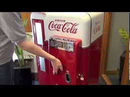 Retro Coca Cola Vending Machine New CocaCola Machine Vendo 48 Coke Machine YouTube