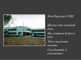 Мой класс и моя школа Сергеев И  Мой класс