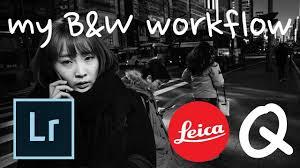 How I edit my Leica Q RAW files | black & white street-photography