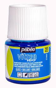 Pebeo Vitrea 160 Color Chart Amazon Com Pebeo 111022 Vitrea 160 Glossy Cyan