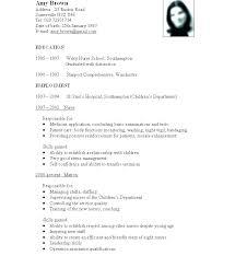 Standard Format Resume Delectable Standard Format For Resume Format Template Simple Resume