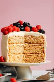 1 Bowl Vegan Gluten Free Vanilla Cake Minimalist Baker Recipes