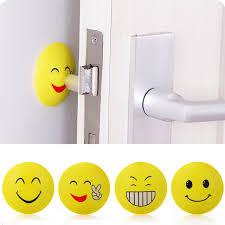rubber door handles self adhesive per guard stopper emoji crash pad wall protector anti collision