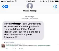 Guy's Impressive Dating Resume To Get A GF Goes Viral Interesting Dating Resume