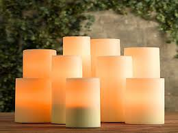 Outdoor Flameless Candles Magnificent Outdoor Candle Impressions White Flameless Candle With 32 Hour Timer