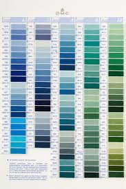 Embroidery Floss Number Chart Dmc Stranded Cotton Colour Chart Shade Card Stitchtastic