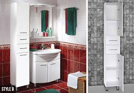 tall bathroom storage cabinets. 1.8m Tall Bathroom Storage Cabinet - Three Options Available Cabinets