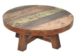 round rustic coffee table reclaimed wood tables furniture with remodel 1