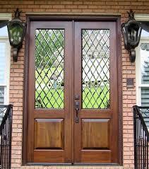 double front doors glass front door