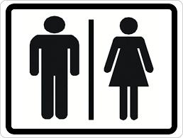 restroom signs. Delighful Restroom Man And Woman Symbol Restroom Sign To Signs
