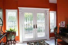 white double front door. White Double Front Doors Fiberglass Entry Home Depot Door Z