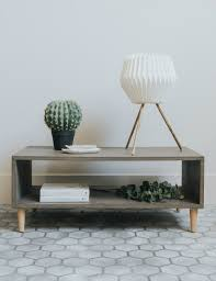 concrete coffee table buy industrial furniture