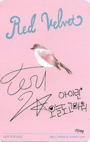 Red Velvets Ice Cream Cake Photocards Omonatheydidnt