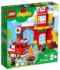 <b>Конструктор LEGO Duplo</b> 10903 Пожарное депо — купить по ...