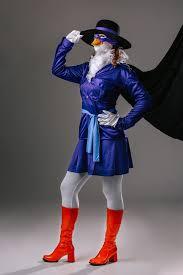 diy women s darkwing duck costume
