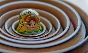 Resultado de imagen de papel dentro de una matrioska