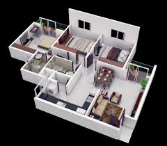3 Bedroom Apartment In Dubai Creative Collection Cool Design Ideas