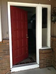 Front Doors Front Entry Door With Sidelights And Transom Door
