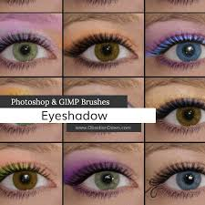 eyeshadow photo and gimp brushes by redheadstock