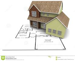 New House Plans Stock Image   Image  New house plans