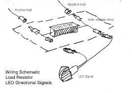 buell motorcycle forum dual circuit led signals wire wound resistor across the right and left hand blinker circuits to achieve the same thing at less than half the cost here is the circuit diagram