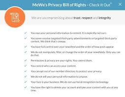 Privacy By Design Centre Of Excellence Mewe The First Social Network With Privacy By Design