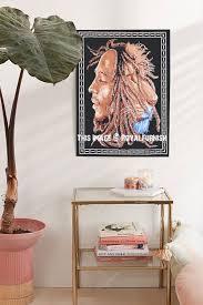 Bob Marley Lion Face Poster Wall Hanging Rasta Reggae Poster Tapestry