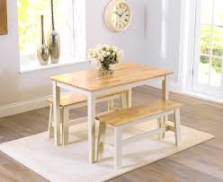alluring oak bench for dining table small kitchen table