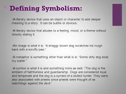 symbolism in literature ppt video online  defining symbolism a literary device that uses an object or character to add deeper meaning