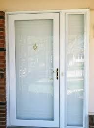 replacement storm doors in st louis pro via storm doors sidelight decorative window guide for