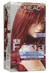 Loreal Red Hair Colour Chart 3 Off Any Loreal Feria Hair Color Coupon Hunt4freebies