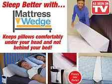 mattress wedge. mattress wedge incline raise back support soft foam pillow twin queen king size \