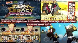 Naruto Shippuden Ultimate Ninja Storm 4 Legacy - PPSSPP Texture Mod -  YouTube