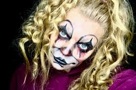 scary makeup ideas dead blonde clown elle blonde luxury lifestyle destination