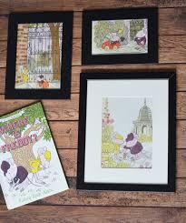 diy nursery children s book art project