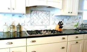 backsplash behind stove tile behind stove tiling in kitchen before and after painted cabinets microwave oven