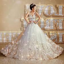 princess wedding dresses with diamonds and lace naf dresses