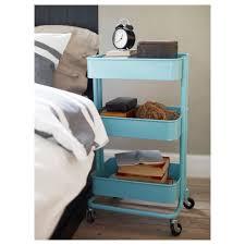 Fascinating An Ikea Raskog Utility Cart Used As A Bedside Se Ikea Hacks  Will Upgrade Your