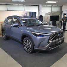 โตโยต้า เปิด ครอส เอสยูวี Toyota Corolla CROSS เครื่อง 1.8 ราคาเริ่มต้น  9.59 แสน ครั้งแรกของโลก