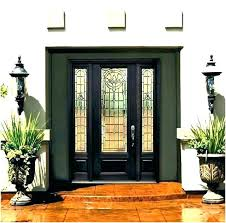double panel front door double entry doors with glass front door glass inserts front doors with