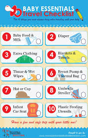 list of items needed for baby top 10 baby items list when traveling with your little one