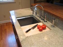 kitchen sink with cutting board broad ripple cherry within inspirations 1
