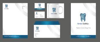 Dental Stationery Design Elegant Modern Dental Stationery Design For Smile Gallery