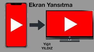 Telefonun Ekranının Televizyona /Pc'ye Yansıtma (Google Home) - YouTube